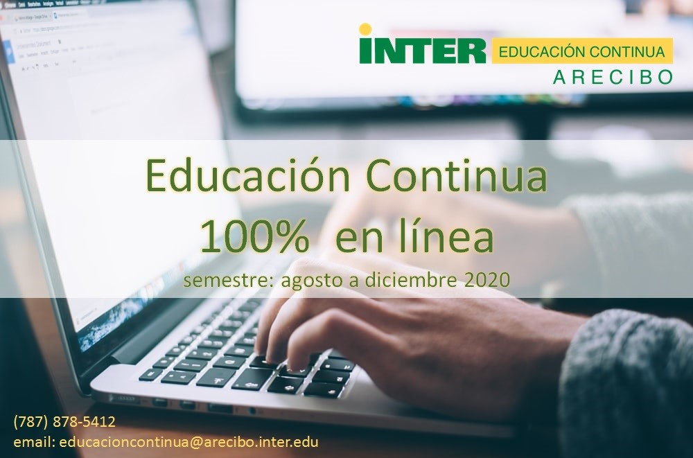 Educación Continua 100% Online